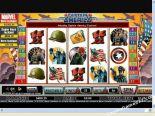 hedelmäpelit Captain America CryptoLogic